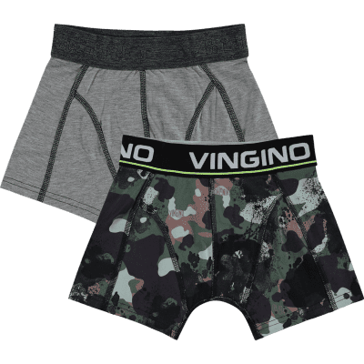 Foto van Vingino short Hide 2-pack boys HS18KBN72503 203