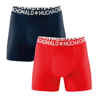 Foto van Muchachomalo 2 pack cotton solid 1132COTTON09