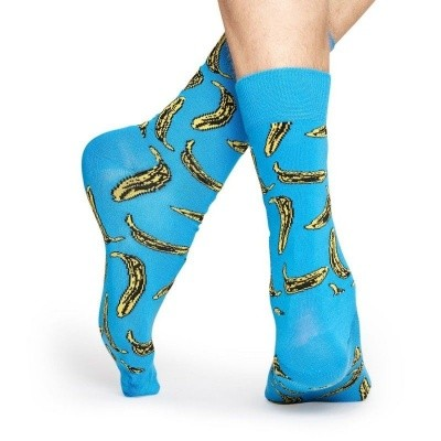 Foto van Happy socks Andy Warhol BANANA AWBAN01-6000