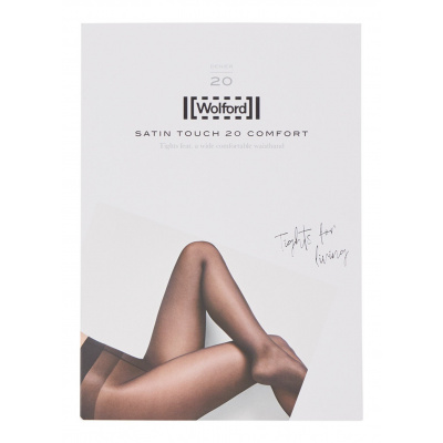 Foto van Wolford satin touch 20 18378 7221 anthracite