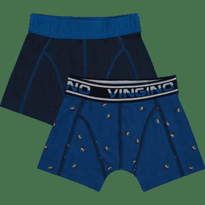 Foto van Vingino short Pool 2-pack boys HS18KBN72502 143 pool blue