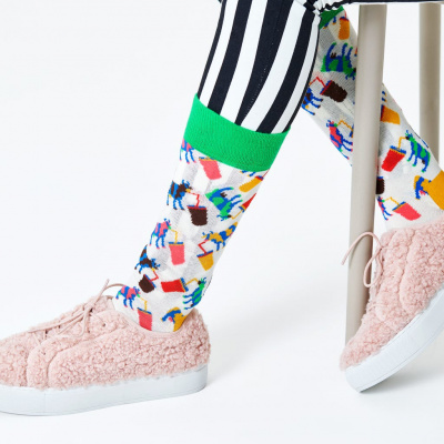Foto van Happy socks MCO01-1300 MILKSHAKE COW SOCK