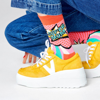 Foto van Happy socks MOM01-4000 SUPER MOM SOCK