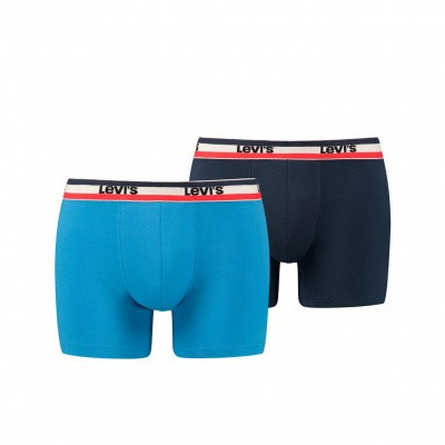 Foto van LEVIS 200SF SPRTSWR LOGO COLOR BOXER BRIEF 2P BLUE