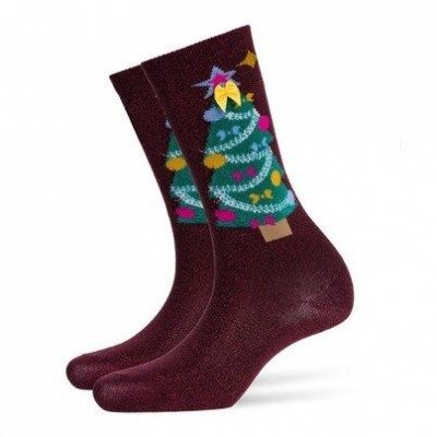 Foto van Burlington Fashion Christmas sock 20686 8370