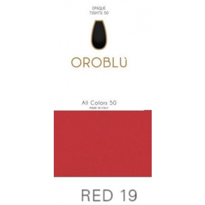 Foto van Oroblu mibas ALL COLORS KNEE -HIGH vobc655560 Red 19