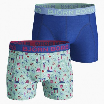 Foto van BJORN BORG SHORTS JAPANESE SUMMER 2021-1094 BEACH GLASS