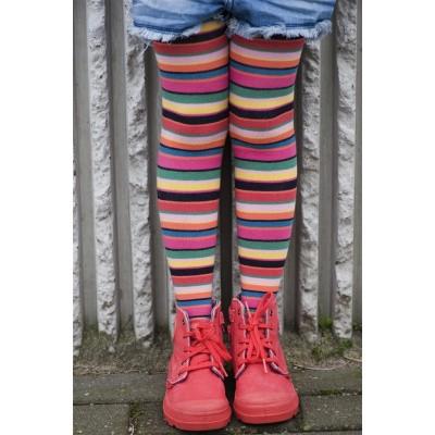 Foto van Bonnie Doon kindermaillot Crayon StripesTights BN553902