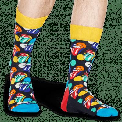 Foto van Happy socks ROLLING STONES BIG LICKS SOCK RLS01-6300