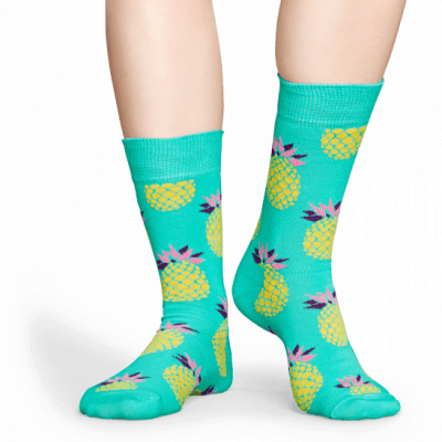 Foto van Happy socks PIN01-7000 Pineapple Sock