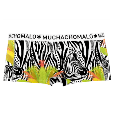 Foto van Muchachomalo single pack Dames Short Zebra 1215ZEBRA02