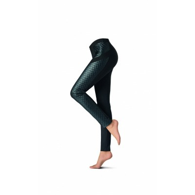 Foto van Oroblu fashion jegging GRAPHIC MORAVIAN VOBT65932 BLACK