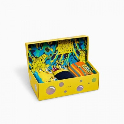 Foto van Happy socks XBOB08-0100 SpongeBob 3-pack Gift Box