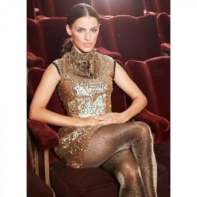 Foto van Oroblu Diamonds feest panty OR2140438 BLACK SILVER