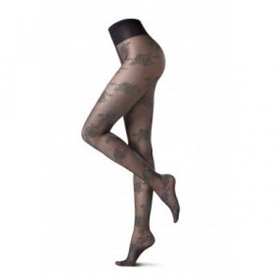 Foto van Oroblu SILVER ROSE feest panty VOBC65989 black/zilver