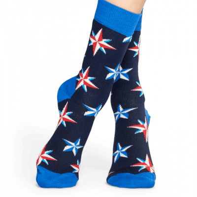 Foto van Happy socks NAUTICAL STAR SOCK NST01-6001