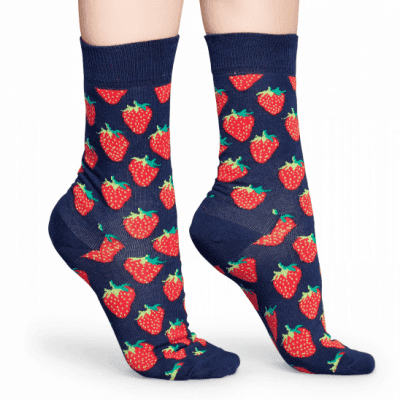Foto van Happy socks STRAWBERRY SOCK STB01-6000