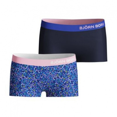 BJORN BORG MINISHORTS BB LA TINY FLOWER 2P 1911-1589 surf the web
