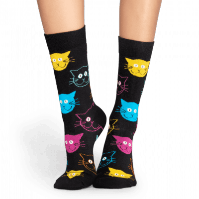 Foto van Happy socks CAT SOCK MJA01-9001