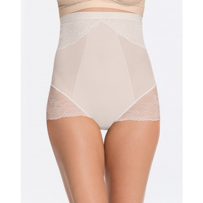 Foto van Spanx Spotlight on Lace Lace High -Waisted Brief SPX 10121R CLEAN WHITE