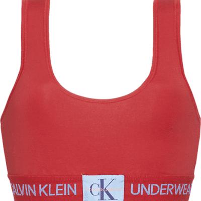 Foto van Calvin Klein UNLINED BRALETTE QF4918E-RYM red