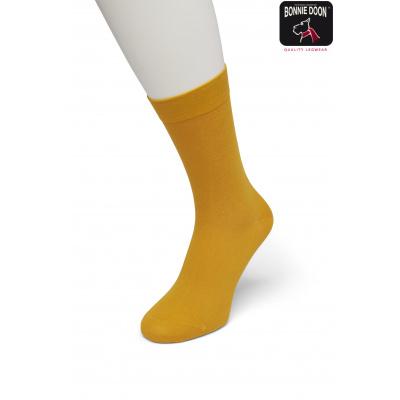 Foto van Bonnie Doon Cotton Socks 83422 MINERAL YELLOW
