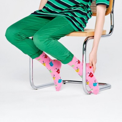 Foto van Happy socks SPO01-3300 SODA SOCKS