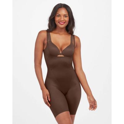 Foto van SPANX Thinstincts® 2.0 Open-Bust Mid-Thigh Bodysuit BLACK