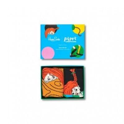 Foto van Happy socks SXPIP02-9000 Pippi Longstocking 2-Pack Gift Set