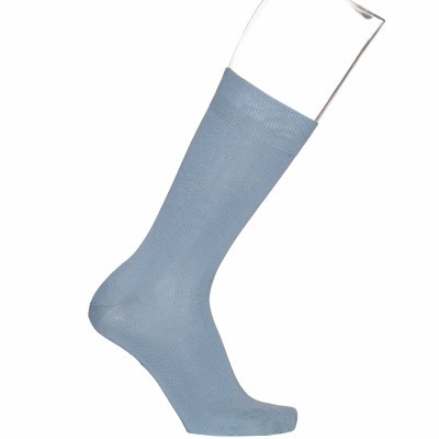 Foto van Bonnie Doon cotton sock BD632401 Chambray