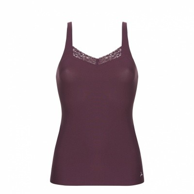 Foto van Ten Cate Women Secrets Spaghetti Top LACE 30677 BURGUNDY