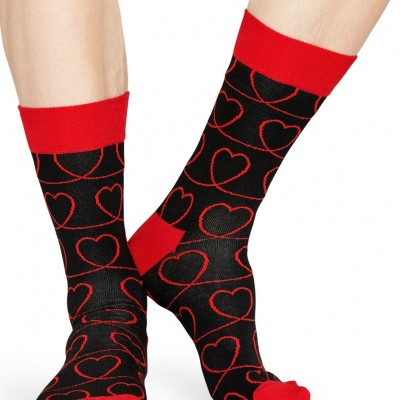 Happy socks LLI01-9000 LOVE LINE