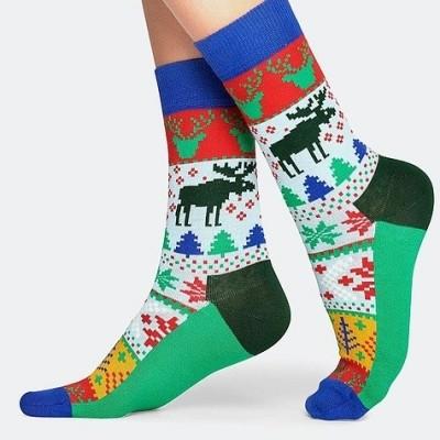 Foto van Happy socks FAIR ISLE FAI01-7000