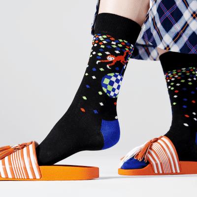 Foto van Happy socks DIS01-9300 DISCO SOCKS