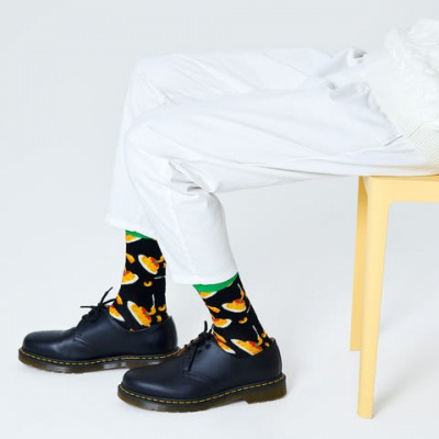 Foto van Happy socks MAC AND CHEESE SOCK MAC01-9000