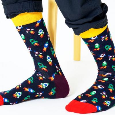 Foto van Happy socks ROC01-6500 ROCKET SOCK