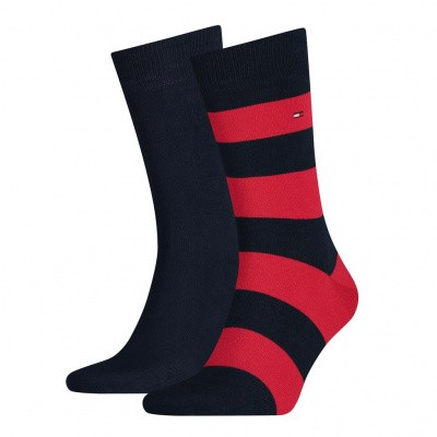 Foto van Tommy Hilfiger TH MEN RUGBY SOCK 2P TOMMY ORIGINAL