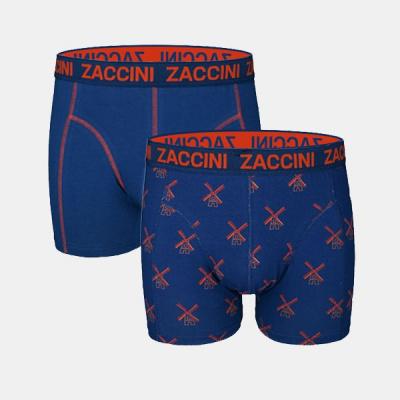 Foto van Zaccini Men's 2 pack boxers M05-228-01 DUTCH MILL
