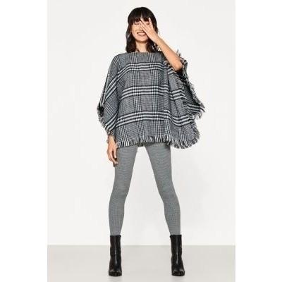Foto van Esprit fashion legging 18047 3000 pied de poule print