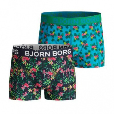 BJORN BORG SHORTS FOR BOYS BB LIFE 2P EXOTIC MINI &BB PARADISE MINI