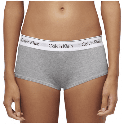 Foto van Calvin Klein boyshort modern cotton F3788E grijs