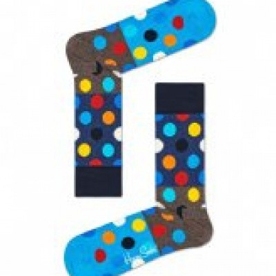 Foto van Happy socks BDB01-8300 BIG DOT BLOCK