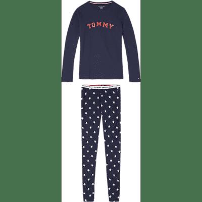 Foto van Tommy Hilfiger Pyjama STARS LS UG0UG00172 428
