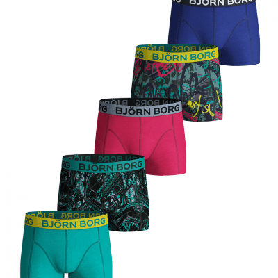 BJORN BORG 5 pack shorts BB EIFFEL 1841-1162-90651