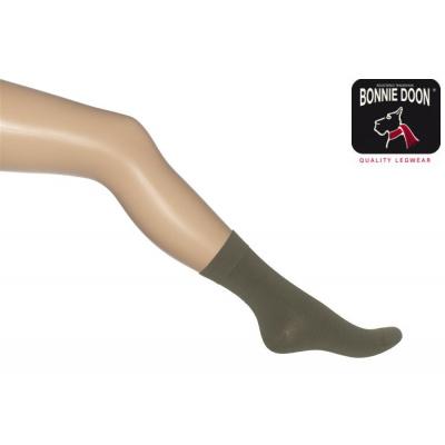 Foto van Bonnie Doon Cotton Socks 83422 OLIVE