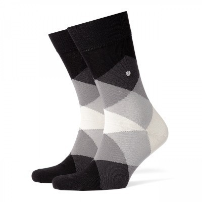 Foto van Burlington Burlington Clyde Sock BLACK 20942