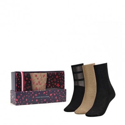 Foto van Tommy Hilfiger women giftbox 3 pack 483016001 200 black