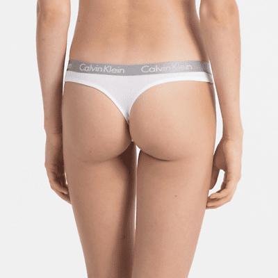 Foto van Calvin Klein string radiant cotton 000QD3539 wit