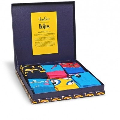 Foto van Happy socks Giftbox XBEA10-6000 THE BEATLES 6 pack