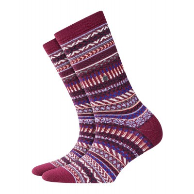 Foto van Burlington Magical Fair Isle 20748 merlot